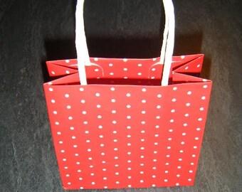 Gift bag 8cms x 8cms for Christmas gift wrapping bag