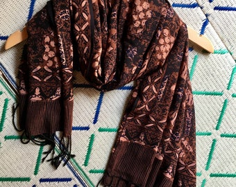 Rani Large Batik Scarf