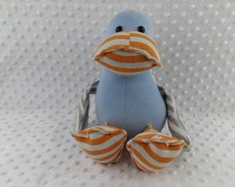 Handmade Keepsake Memory Duck