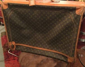 Louis Vuitton Soft-Side Key-Lock Canvas Pullman Case