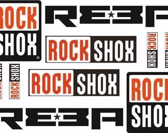 how to change rockshox decals