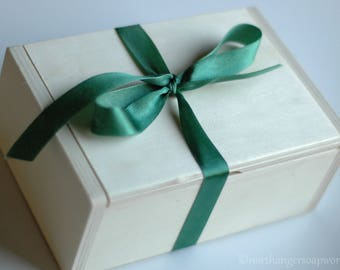 Wooden Gift Box add-on | Holds up to FIVE soaps, MUST buy soap to go inside