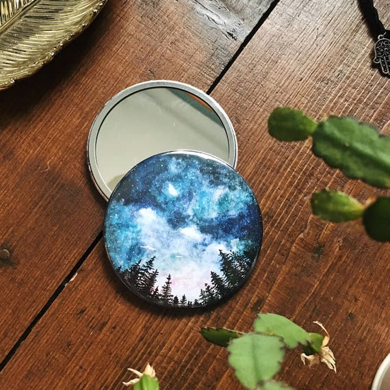 Starry Sky Pocket Mirror