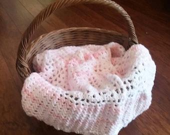 Handmade cochet baby  blanket