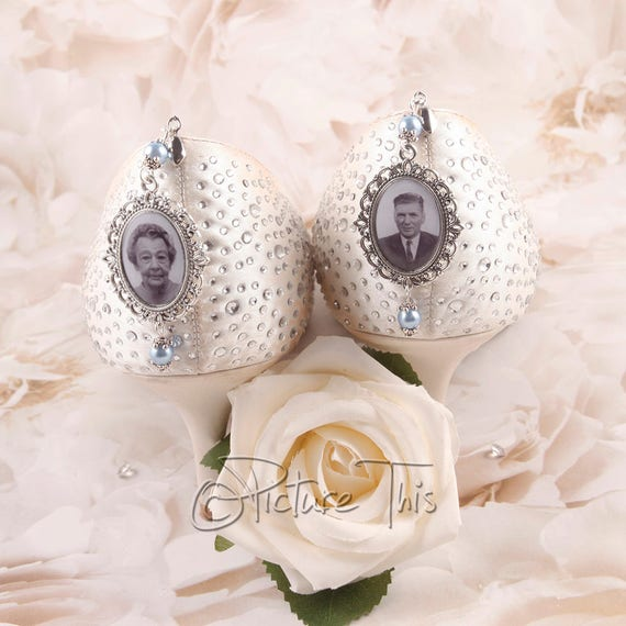 Memorial Charms For Wedding Shoes