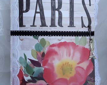Paris Junk Journal/Paris Journal/Fashion Junk Journal/Fashion Journal/Spring Junk Journal/Beauty Junk Journal/Junk Journal/Travel Journal