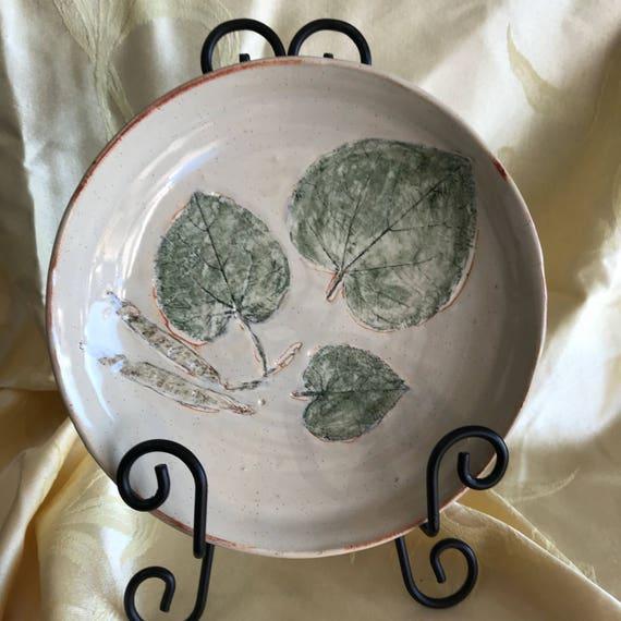 Eastern Redbud Leaf Plate