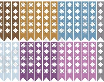 Checklist Planner Stickers-Mountain Heather