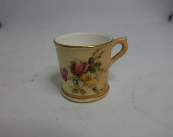 Miniature Worcester hand painted jug 1911