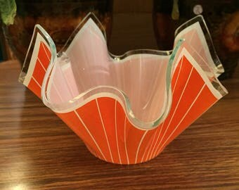 1950s, Mid Cent ICONIC Candy Wrapper Dish