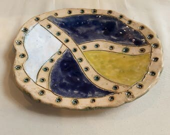 beautiful Pottery Plater