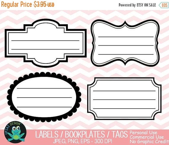 75 off sale label frames clipart vector graphics commercial use rh catchmyparty com