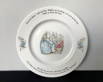 Wedgwood Peter Rabbit Dinner Plate