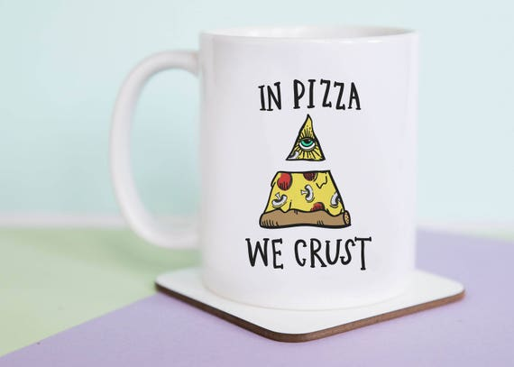 In Pizza We Crust Coffee Mug with gift box