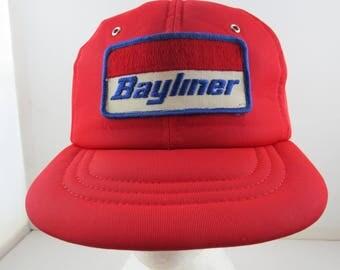 Vintage Bayliner Hat - Polyfoam Hat - Adult Snapback