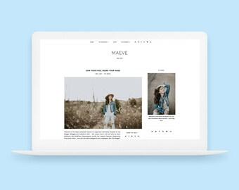 Maeve | Responsive Blogger Template