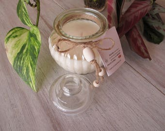 """""""Candy box round"""" candied fig candle"""