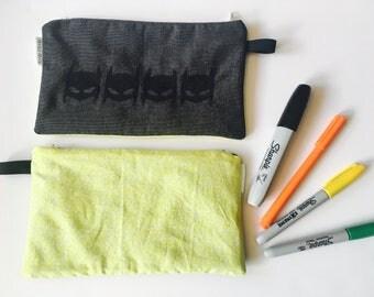 Pencil case / batman /pencil box / gift fir him / gift boy