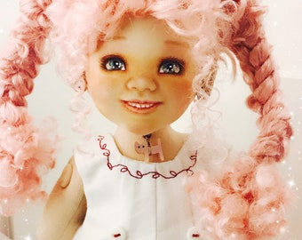 Special BJCD - 40 cm face painted cloth doll