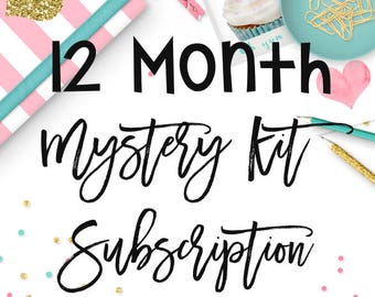 12 Month Mystery Kit Subscription