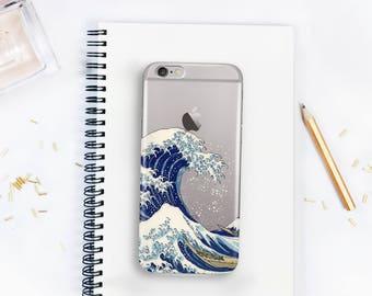 iphone case 6 The Great Wave iphone 6s case gift for her iphone 7 case gift for him The Great Wave off Kanagawa