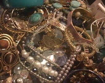 Box of jewelry summer jewelry lot of jewelry subscrition box of jewelry jar of jewelry gold jewelry wholesale jewelry