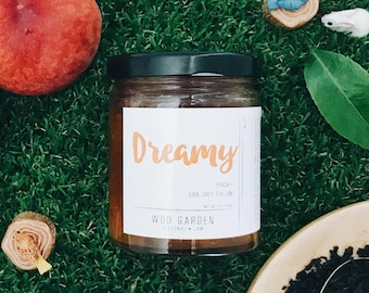 DREAMY (Peach + Earl Grey Tea Jam)