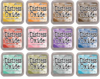 """Ranger Tim Holtz Distress Oxide Ink Pads 3""""x3""""  - New and Old Colors To Choose From"""