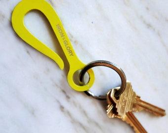 Keyhook Keychain, Yellow