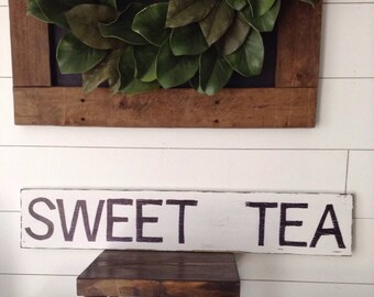 "Sweet Tea sign, 5 1/2"" x 30"""