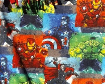 READY TO SHIP Marvel Avenger Fleece Throw With Antipill Backing