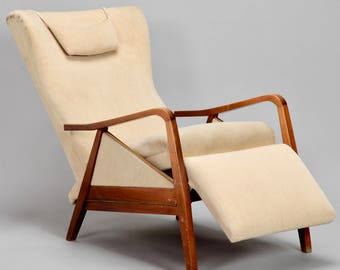 Mid-Century Reclining Chair in the Manner of Paola Buffa [8090] & Mid century recliner | Etsy islam-shia.org