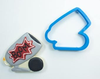 Cannon Cookie Cutter | Circus Cookie Cutter | Birthday Cookie Cutter | Frosted Cookie Cutters
