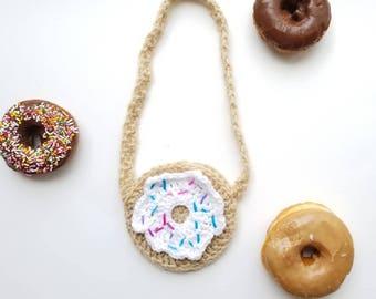 Crochet Donut Purse/ Toddler Purse