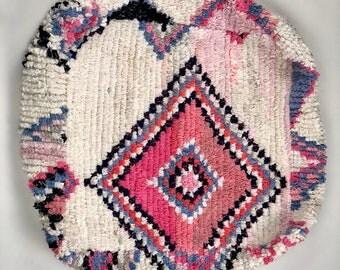 Moroccan Floor Pillow /Floor Poof / Moroccan Boujaad Pouf / Moroccan Floor Cushion