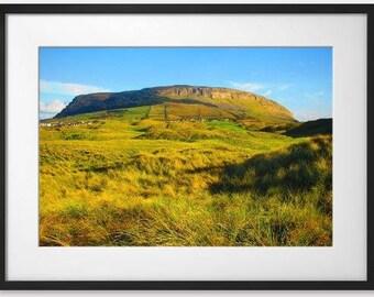 Knocknarea Mountain, Sligo, Ireland.