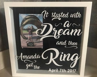 Custom Aggie Ring frame,Texas A&M ring, Aggie senior ring, Aggie ring gift, Ring Day gift, Custom Aggie Gift, Custom Ring Day Gift,