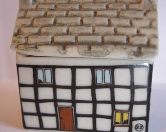 Wade Whimsey on Why miniature ceramic house SWEET SHOP