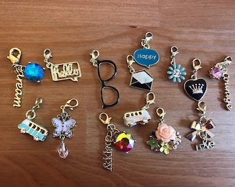 Gold Planner Charms