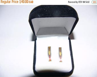 ON SALE Vintage Sterling Silver Earrings