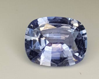 Ceylon Natural Blue Sapphire Cushion Cut 7.47mm