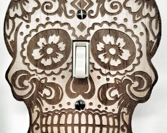 Skull Switch Plate (Day of the dead)