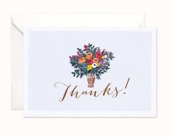 Adore Thank You card