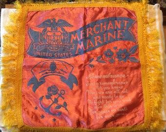 World War 2 Merchant Marine Pillowcase