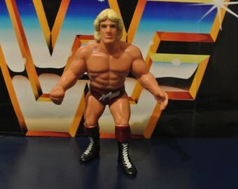 Galoob WCW wrestling Figure - Ric Flair red