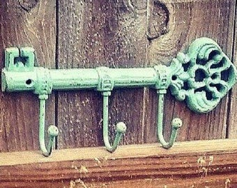 Key Holder , Key Holder For Wall, Home Decor , key Hanger , Wall key Hook , Wall Hanging , Housewarming Gift, Rustic Home Decor, Key Hook