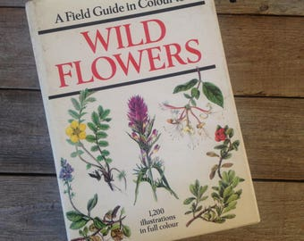 Guide to Wildflowers // Watercolour Artist // Painting book // Gift for artist // Creative gift