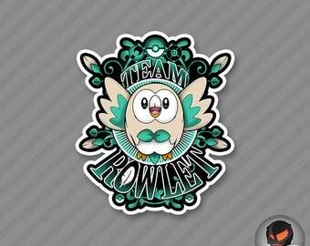 Team Rowlet (Sticker)