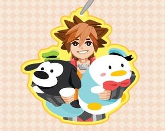 Toy Sora Kingdom Hearts Charm