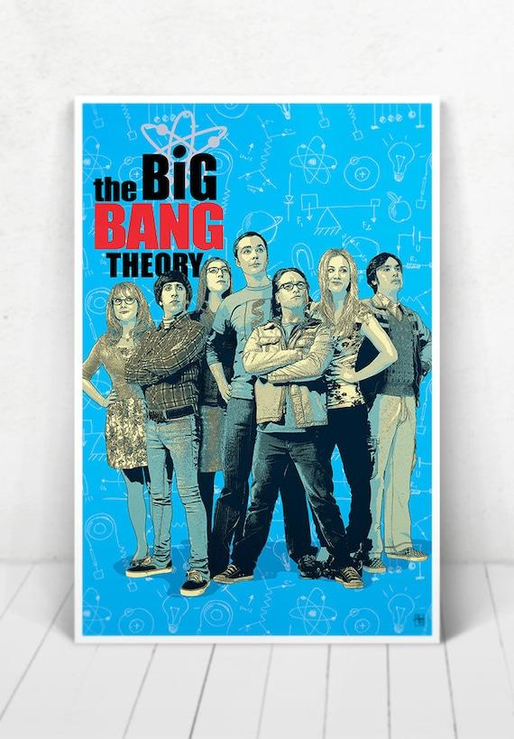 The Big Bang Theory Illustration [The Big Bang Theory Poster / The Big Bang Theory]